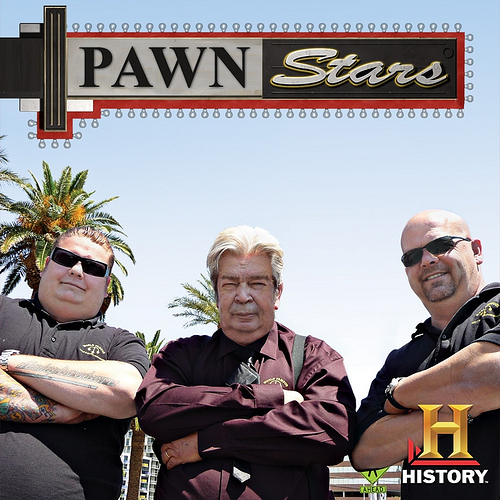 "Pawn Stars"" is on every Monday night on History"