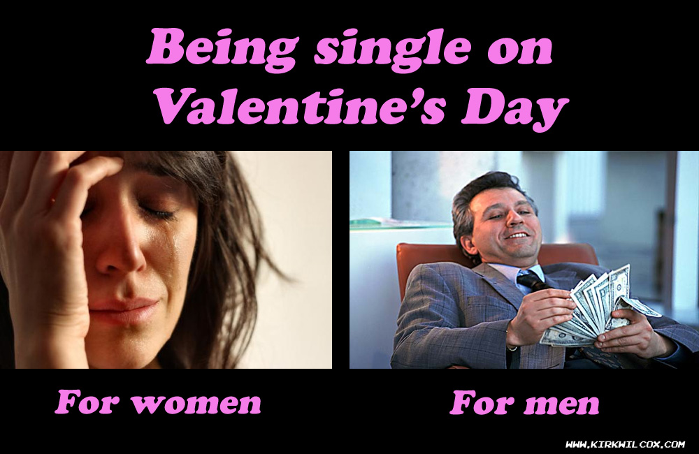 Being Single On Valentineu0027s Day